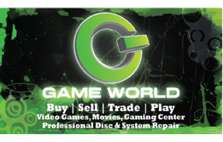 Game World - $50 Gift Certificates HALF OFF!